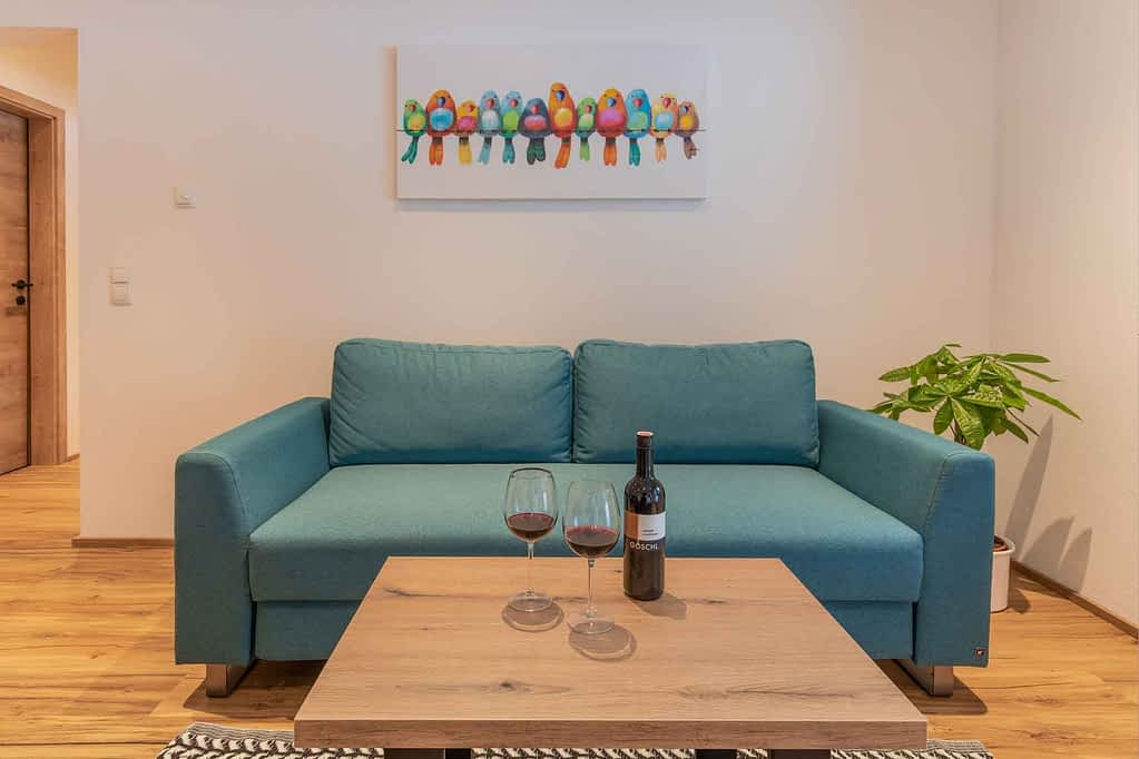 mit der ausziehbaren Couch die Seele baumeln lassen