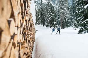 Crosscountry Skiing in the Trailnetwork Stubaital