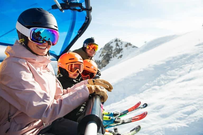 Family Vacation at the Stubai Glacier