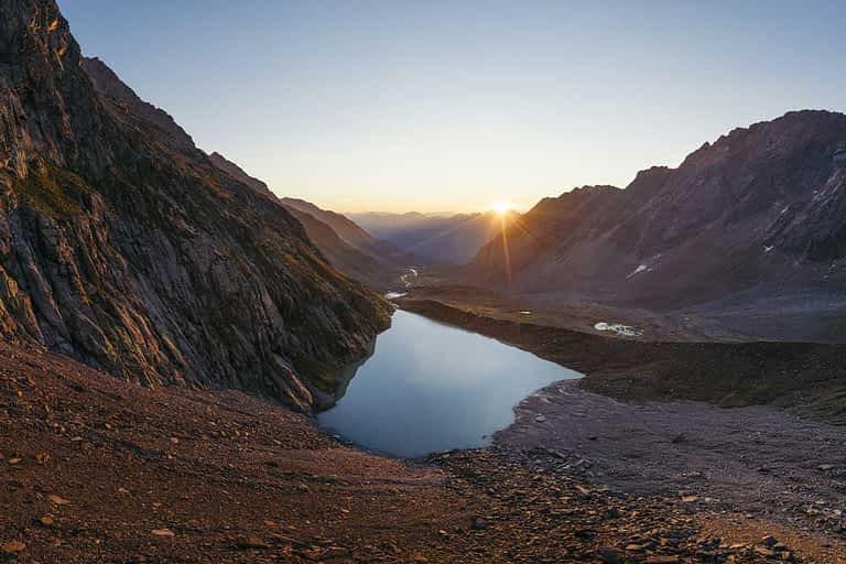 die Bergseen im Stubaital - eine eindrucksvolle Landschaft