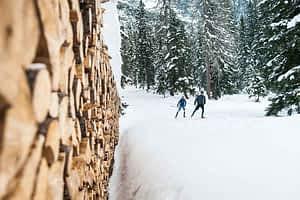 Crosscountry Langlaufen im Loipennetz Stubaital