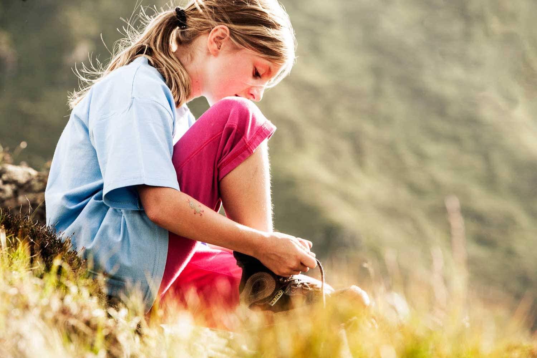 Kinderparadies im Naturspektakel Stubaital